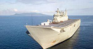 Canberra-class LHD HMAS Canberra