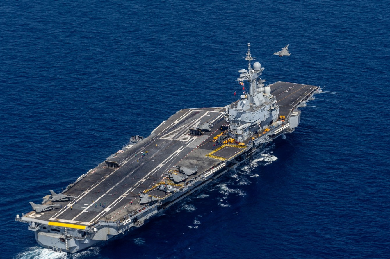 French aircraft carrier starts final drill ahead of 2020 ...Spanish Aircraft Carriers 2019
