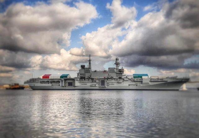 Aircraft carrier ITS Cavour