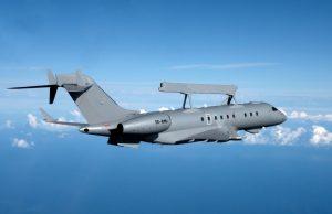 GlobalEye AEW&C aircraft