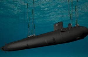 Virginia-class submarine with Virginia Payload Module