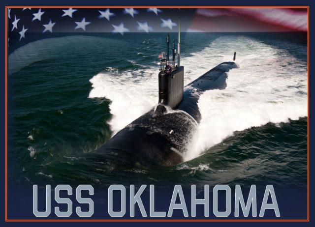Virginia-class submarine USS Oklahoma