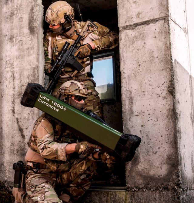 Enforcer shoulder-launched missile system