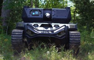 Ripsaw robotic tank