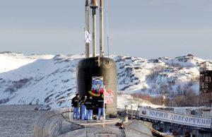 Borei-class submarine Yury Dolgorukiy (K-535)