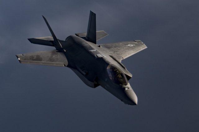 Lockheed Martin-built F-35A stealth fighter jet