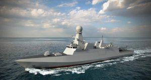 Qatar Emiri Navy corvette