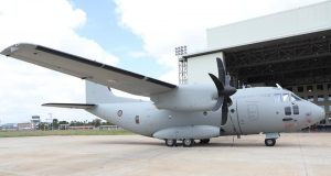 Kenya Air Force Spartan C-27J aircraft