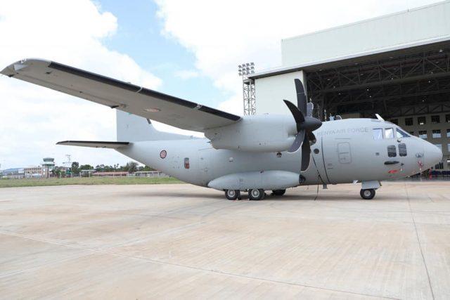 Kenya Air Force Spartan C-27J aircraft
