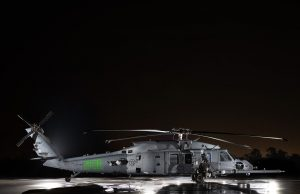 Jolly Green II combat rescue helicopter