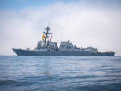 ODIN dazzler laser USS Dewey
