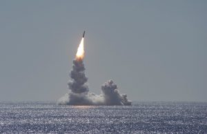 USS Maine Trident launch