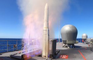 ESSM firing
