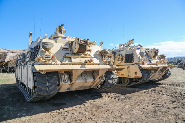 M88 vehicles