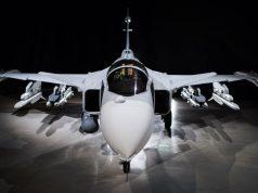 Gripen fighter aircraft