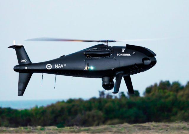 Royal Australian Navy S-100 Camcopter UAS