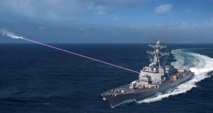 DDG-51 with a HELIOS