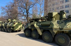 BTR-4 armored personnel carrier