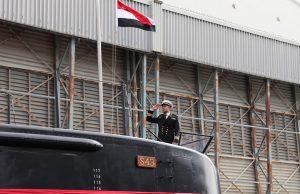 Egyptian Navy Type 209/1400 submarine S43