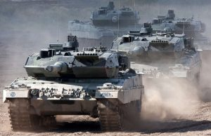 German Army Leopard 2 tanks