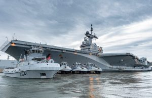 FS Charles de Gaulle at Toulon naval base