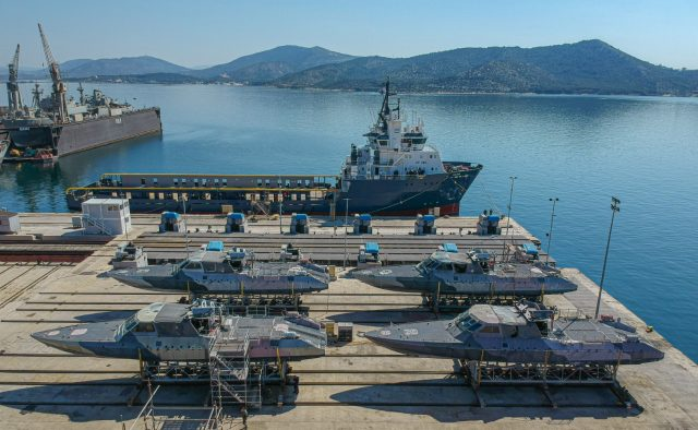 Mark V Special Operations Craft in Greece