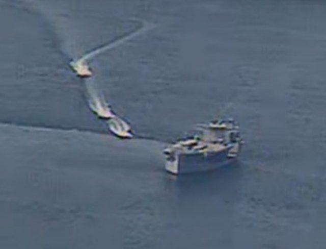 USS Lewis B. Puller IRGCN encounter
