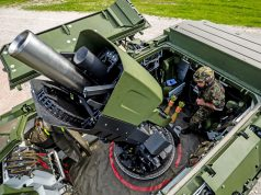 Swiss Army Mörser 16 self-propelled mortar