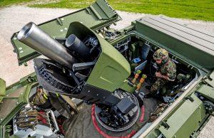 Swiss Army Mörser 16 self-propelled mortar