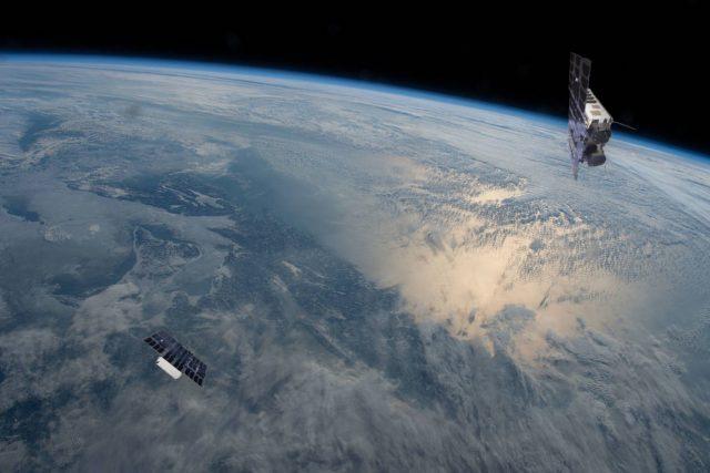 Nano satellites Birkeland and Huygens