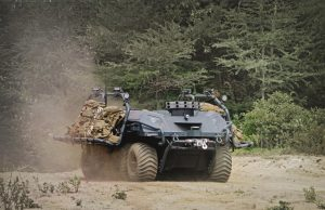 Mission Master unmanned ground vehicle