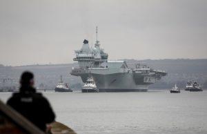 HMS Queen Elizabeth in Portsmouth