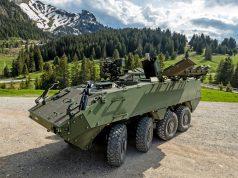 Switzerland Mörser 16 self-propelled mortar system