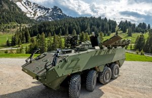 Switzerland Mörser 16 self-propelled mortar system