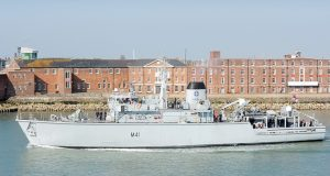 HMS Quorn Lithuanian Navy