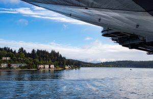 USS Nimitz in Puget Sound