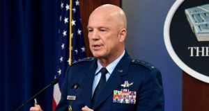US Space Force Chief of Space Operations Gen. John W. Raymond