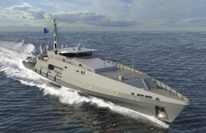 Evolved Cape-class patrol boat