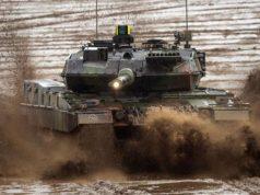German Army Leopard tank