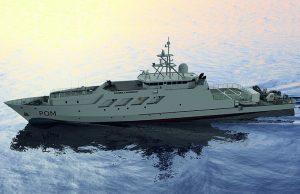 French Navy POM overseas patrol vessel
