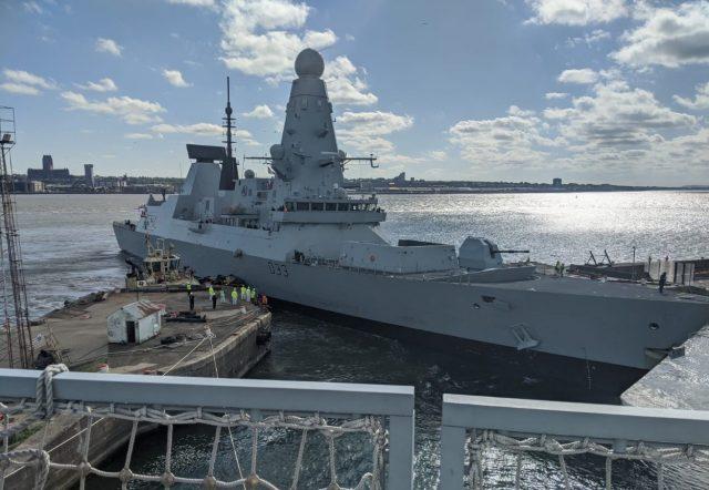 Type 45 destroyer HMS Dauntless