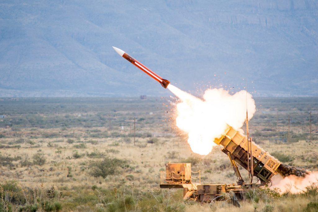 Patriot missile defense system
