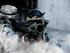 Carl Gustaf M4 grenade launcher