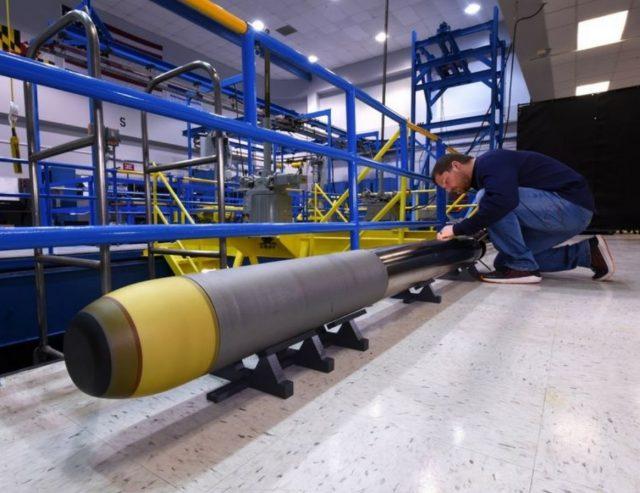 Very lightweight torpedo prototype