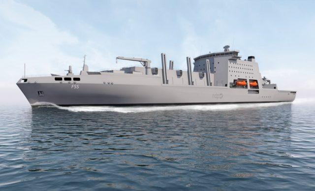 Fleet Solid Support ship design