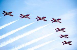Canadian Air Force Snowbirds