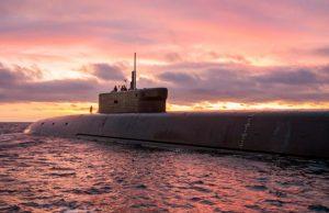 Borei-A submarine Knyaz Vladimir