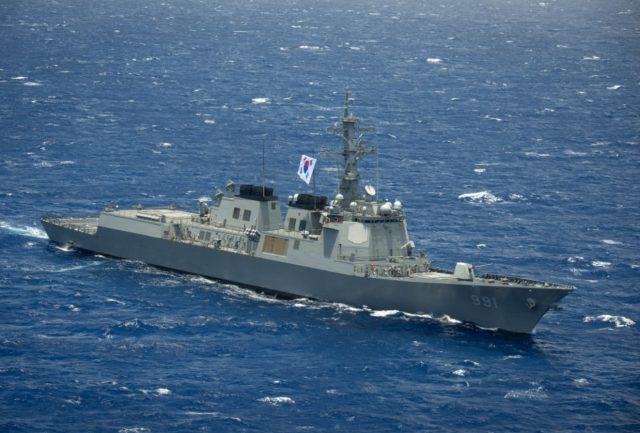 ROK Navy Sejong the Great-class destroyer