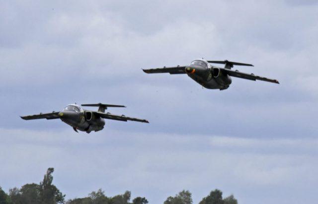 Saab SK 60 training aircraft