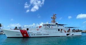 Fast response cutter USCGC Myrtle Hazard